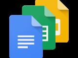 Google Docs, Sheets, & Slides