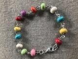 Linked Bead Bracelet