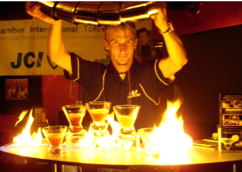 Original source: https://upload.wikimedia.org/wikipedia/commons/e/e7/How_to_pour_5_martinis_at_the_same_time_while_on_fire.jpg