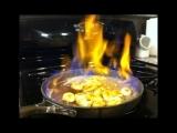 Bananas Foster Flambé: Live Online