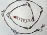 Hand Forged Silver Chain