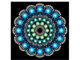 Painting Dot Mandalas with Joyce Amend