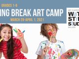 Spring Break Art Camp (grades 4-6)