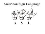 Level I American Sign Language