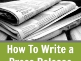 Writing News and Press Releases ONLINE - Fall 2017