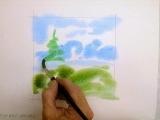 Wonderful Watercolor Painting @ Kathy's Studio