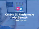 1:00PM | Create 2D Platformers with Scratch