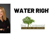 Appraisers & Realtors Due Diligence in Nevada Water Rights