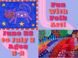 Fun with Folk Art June 28-July 2