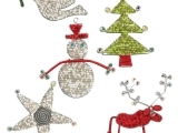 Jewelry - Beaded Christmas Ornaments (2)