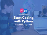 1:00PM | Start Coding with Python