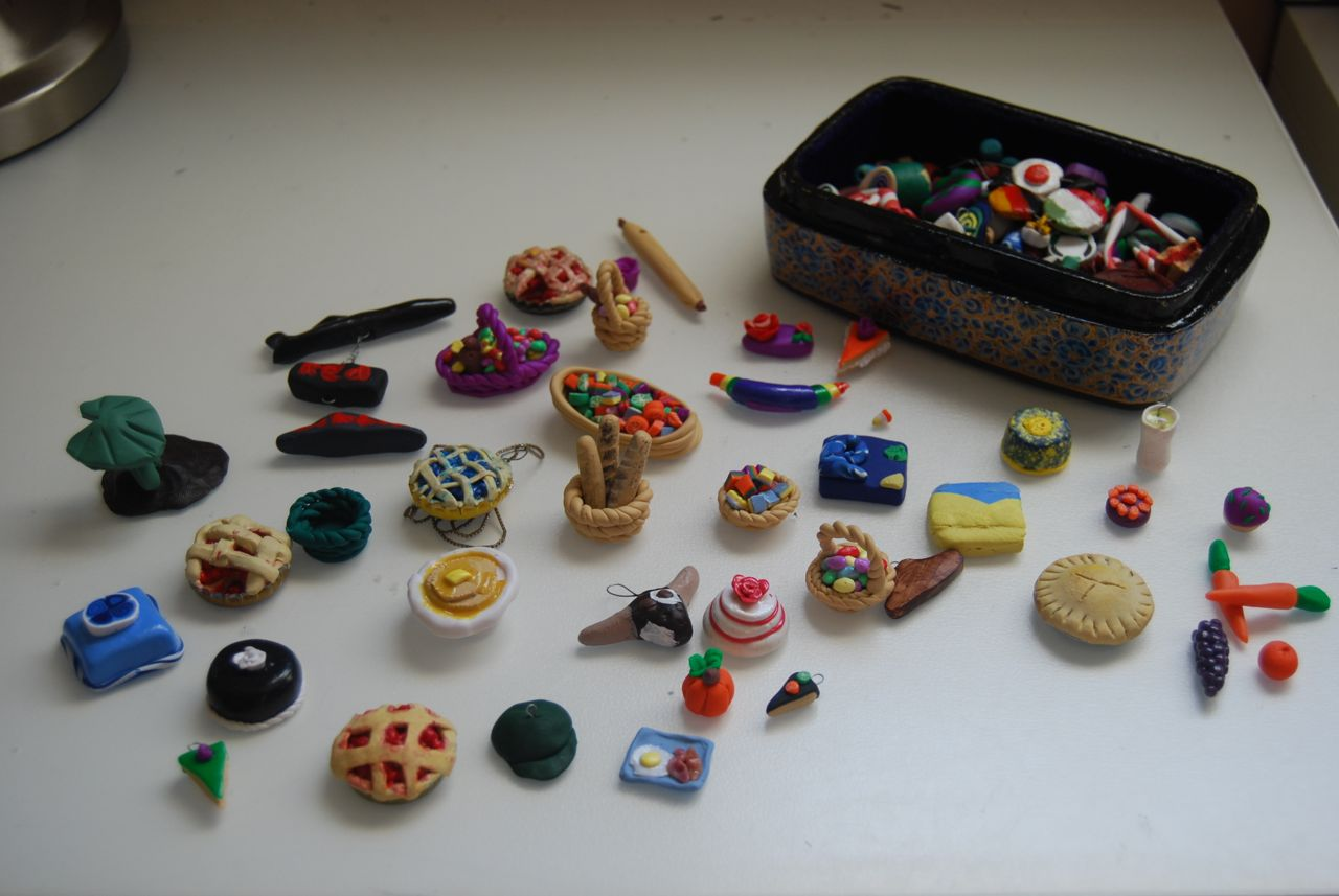 Kids: Clay Miniatures