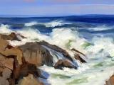 Oil, Acrylic and Gouache Painting - January